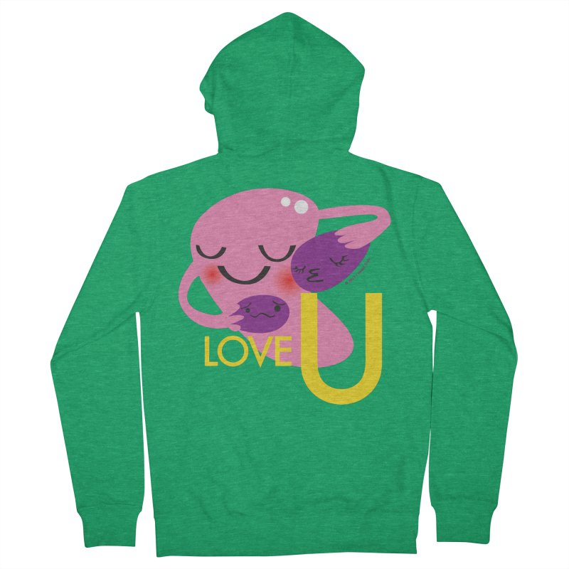 Love U Women's Zip-Up Hoody by I Heart Guts
