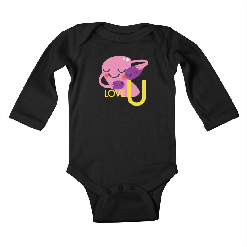 Love U Kids Baby Longsleeve Bodysuit by I Heart Guts