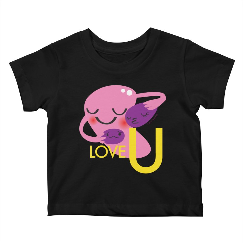 Love U Kids Baby T-Shirt by I Heart Guts