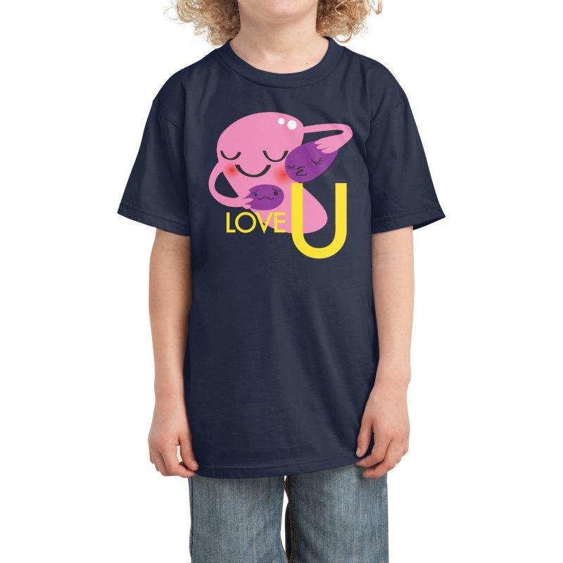 Love U Kids T-Shirt by I Heart Guts