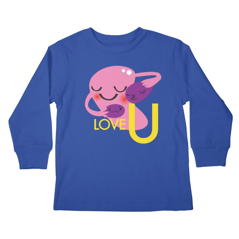 Love U Kids Longsleeve T-Shirt by I Heart Guts