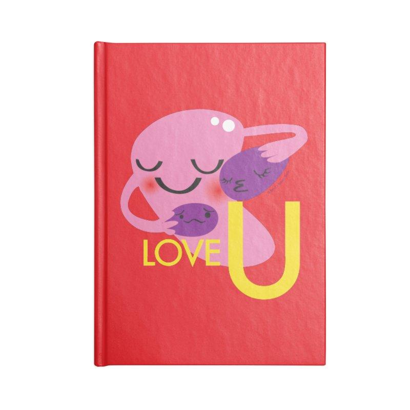 Love U Accessories Notebook by I Heart Guts