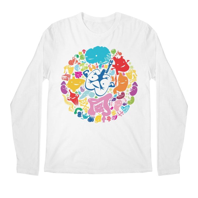 Gutsy Rainbow Men's Longsleeve T-Shirt by I Heart Guts