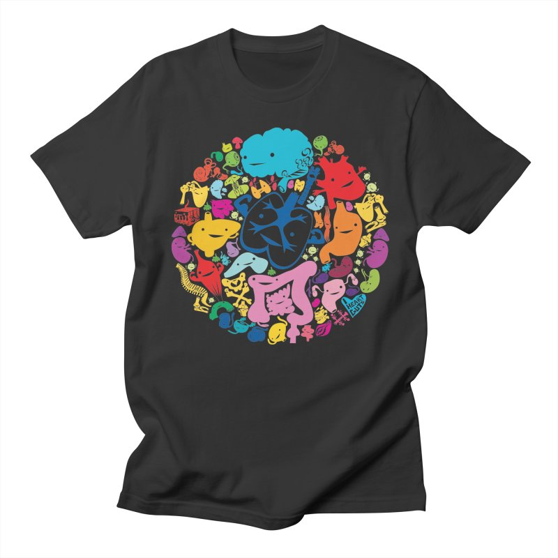 Gutsy Rainbow Women's Unisex T-Shirt by I Heart Guts