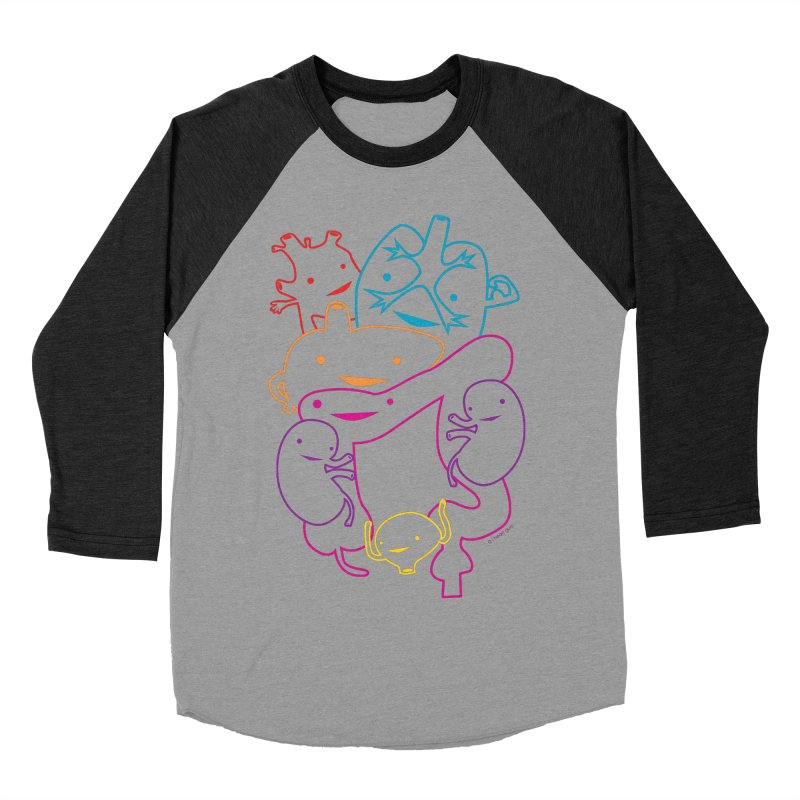 Guts Gang Women's Baseball Triblend T-Shirt by I Heart Guts