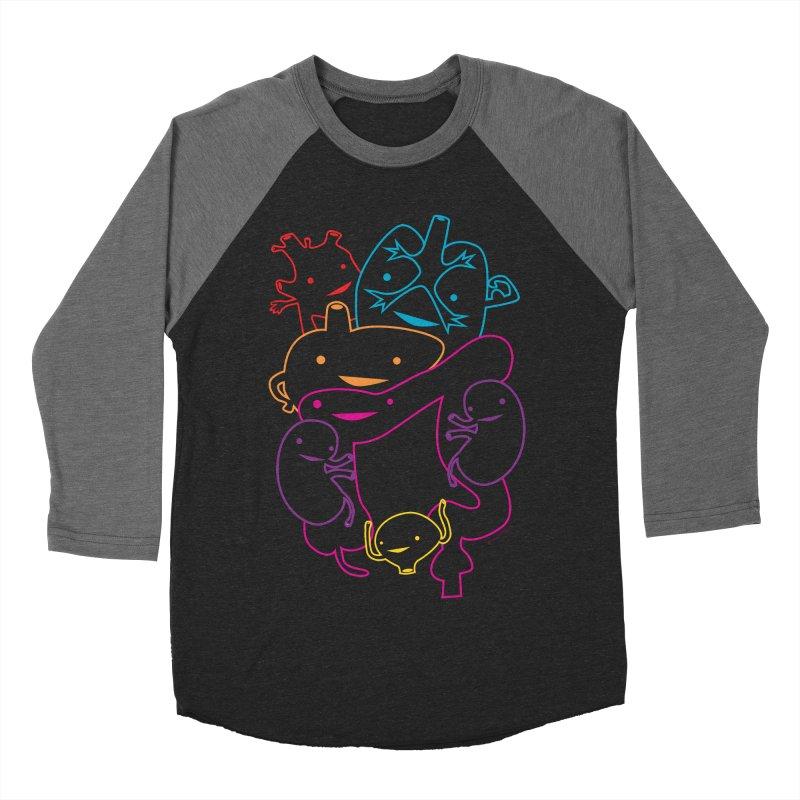 Guts Gang Men's Baseball Triblend T-Shirt by I Heart Guts