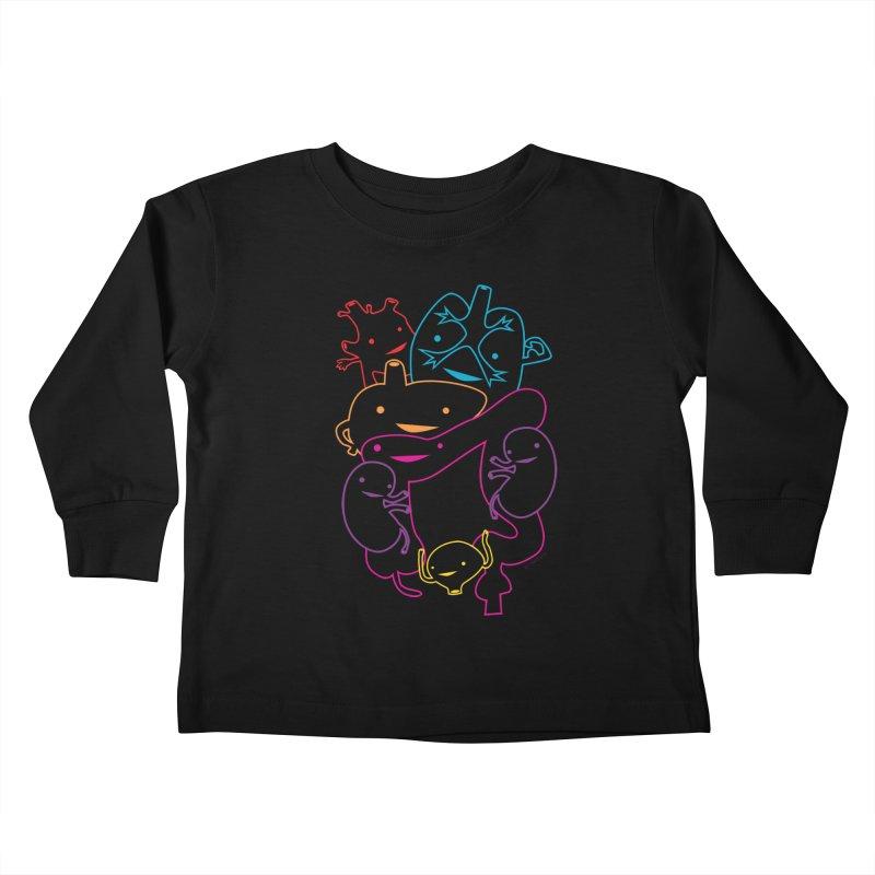 Guts Gang Kids Toddler Longsleeve T-Shirt by I Heart Guts