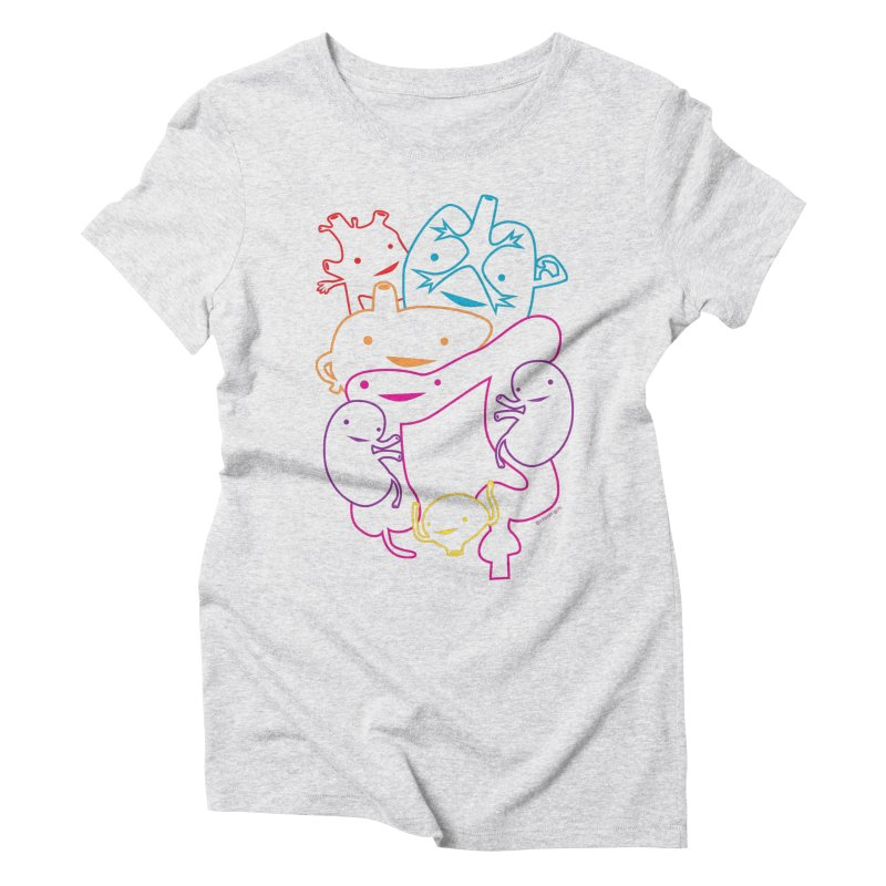 Guts Gang Women's Triblend T-shirt by I Heart Guts