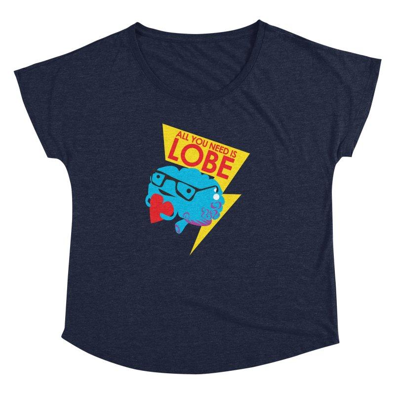 All You Need is Lobe - Brain Women's Dolman by I Heart Guts
