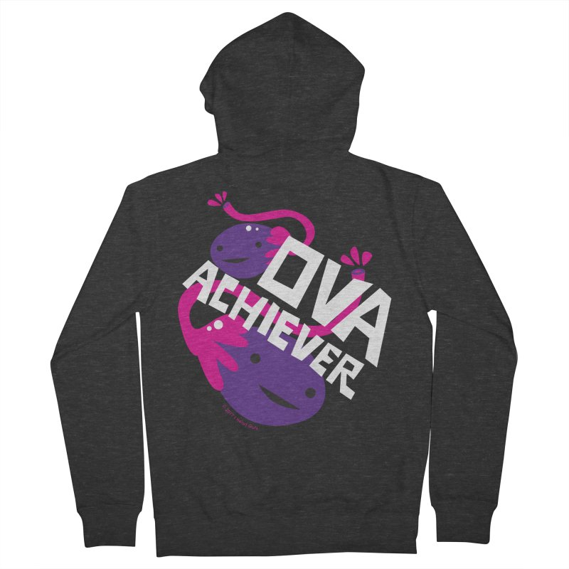 Ova Achiever - Ovary Women's Zip-Up Hoody by I Heart Guts