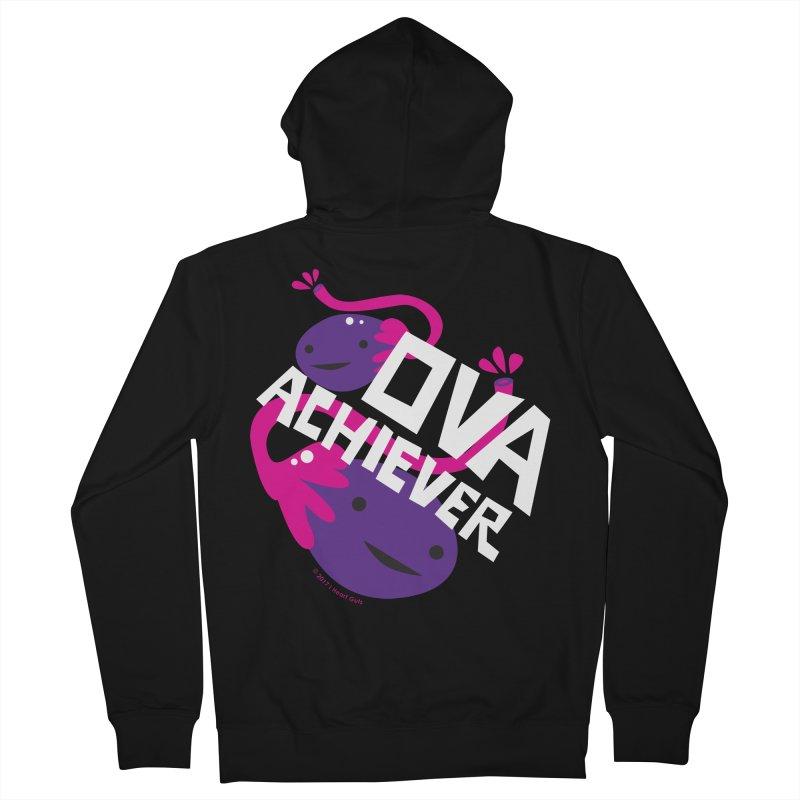 Ova Achiever - Ovary Women's Zip-Up Hoody by I Heart Guts