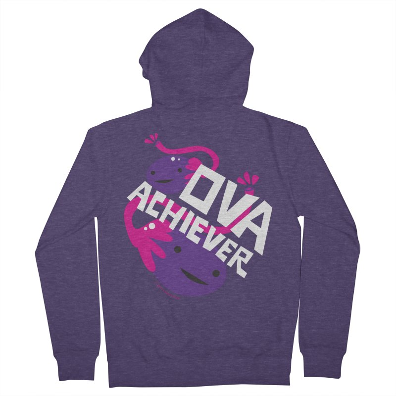 Ova Achiever - Ovary Men's Zip-Up Hoody by I Heart Guts