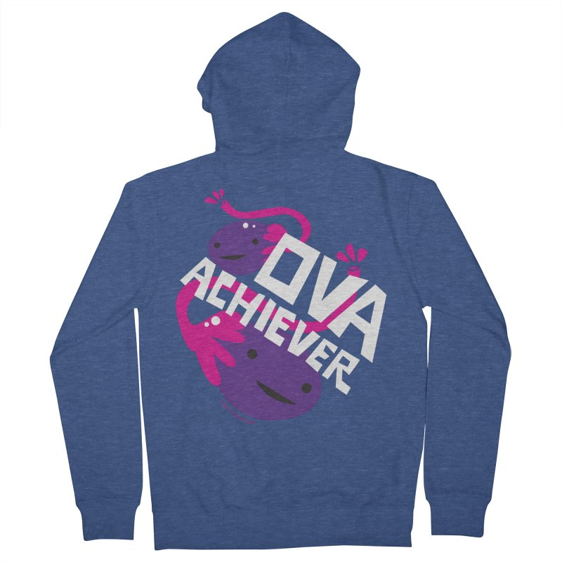 Ova Achiever - Ovary Men's Zip-Up Hoody by I Heart Guts