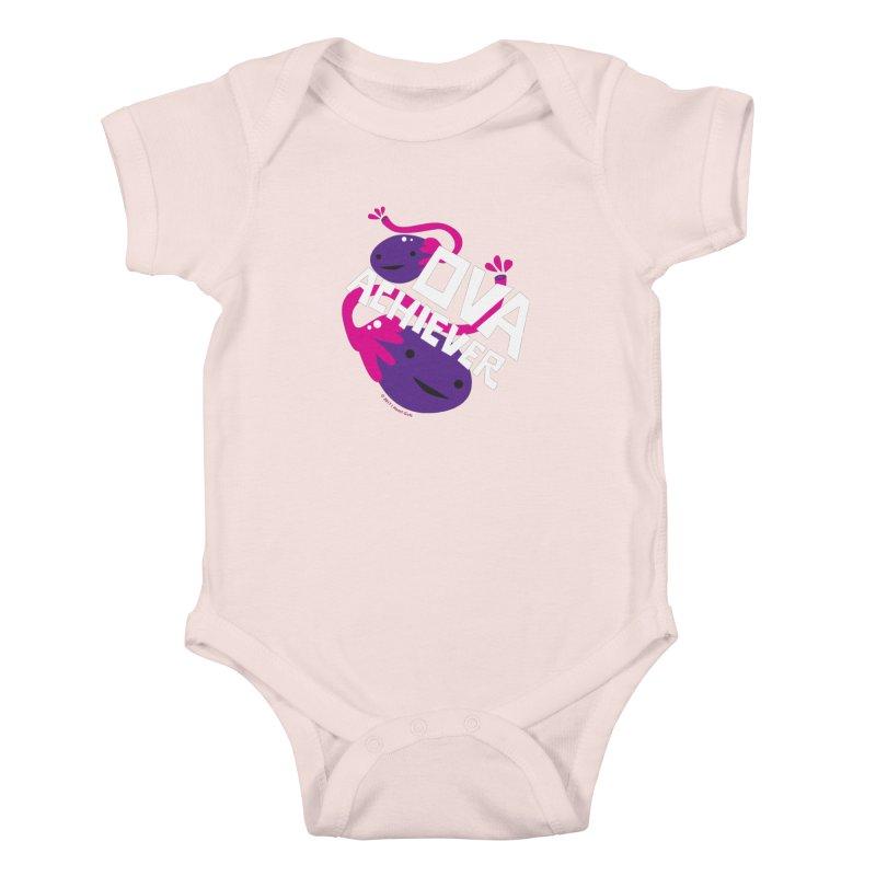 Ova Achiever - Ovary Kids Baby Bodysuit by I Heart Guts