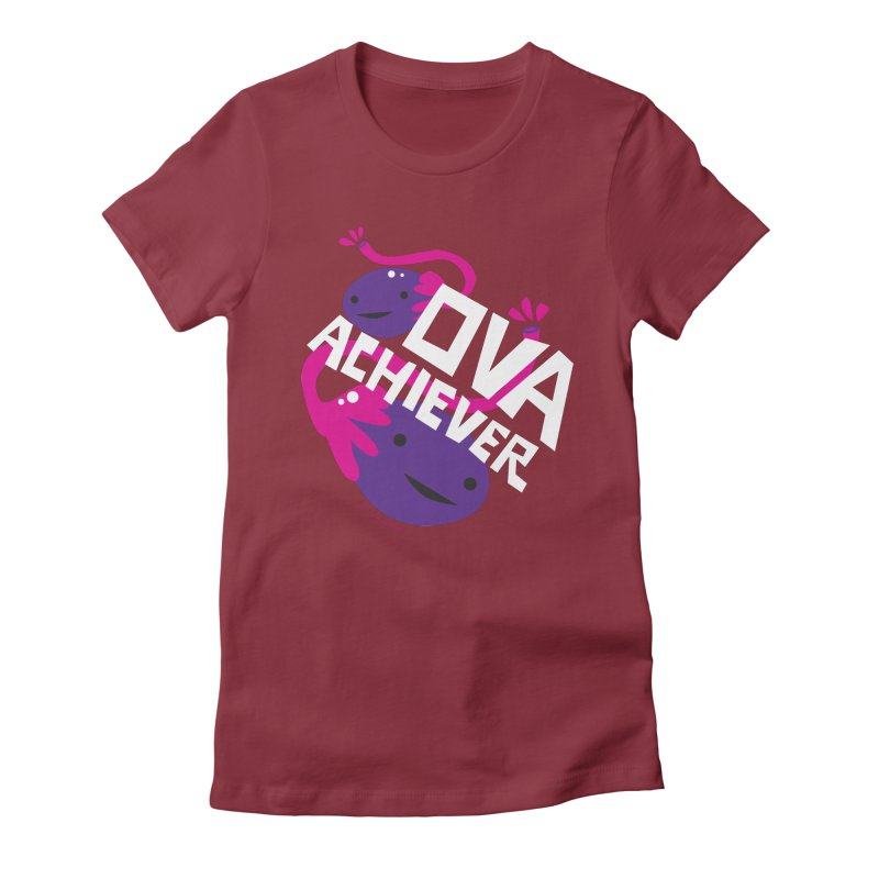 Ova Achiever - Ovary Women's Fitted T-Shirt by I Heart Guts