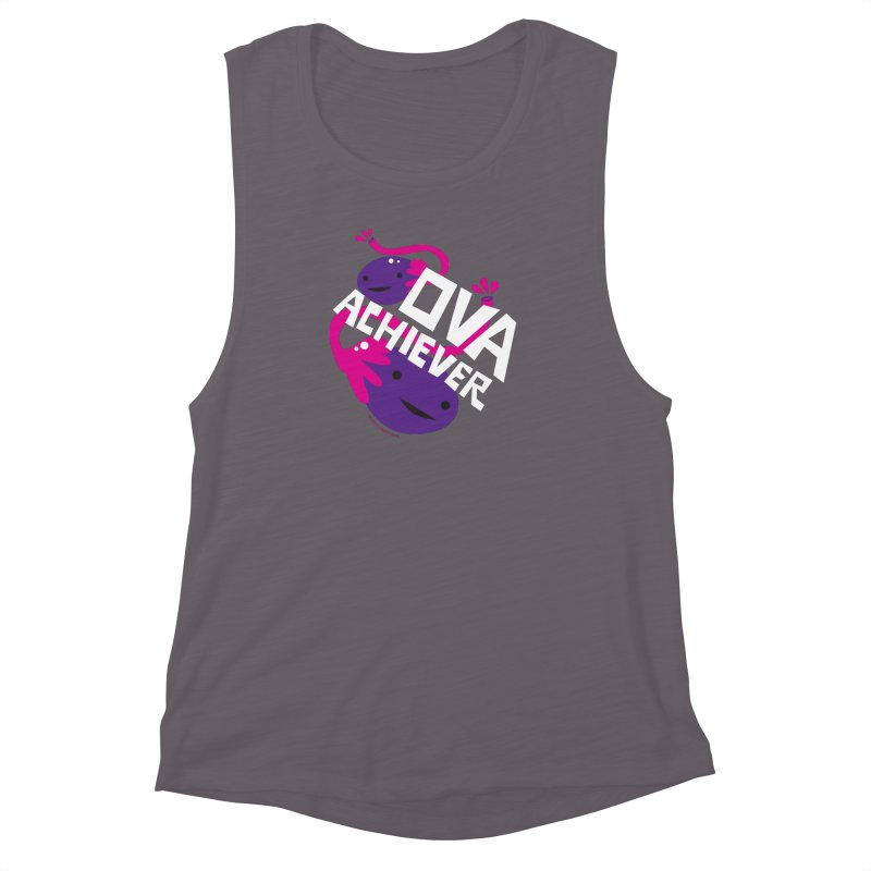 Ova Achiever - Ovary Women's Muscle Tank by I Heart Guts