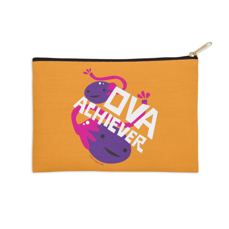 Ova Achiever - Ovary Accessories Zip Pouch by I Heart Guts
