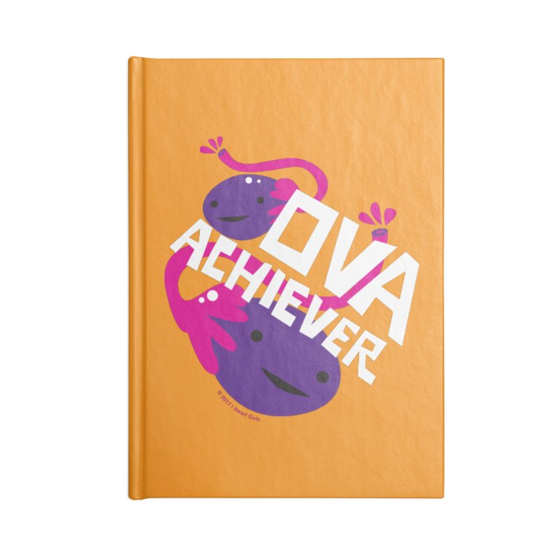 Ova Achiever - Ovary Accessories Notebook by I Heart Guts