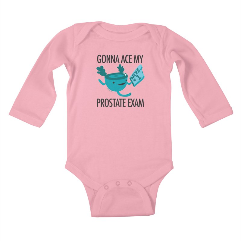 Gonna Ace My Prostate Exam Kids Baby Longsleeve Bodysuit by I Heart Guts