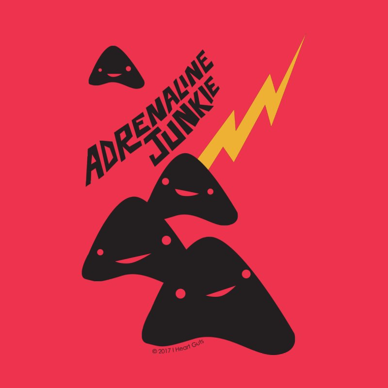 Adrenaline Junkie - Adrenal Glands Kids T-Shirt by I Heart Guts