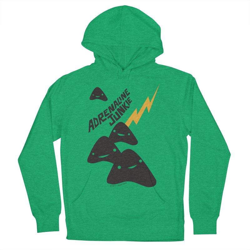 Adrenaline Junkie - Adrenal Glands Men's Pullover Hoody by I Heart Guts