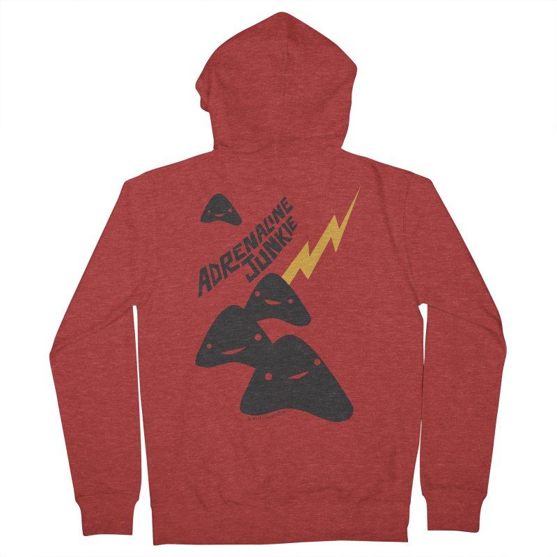Adrenaline Junkie - Adrenal Glands Men's Zip-Up Hoody by I Heart Guts