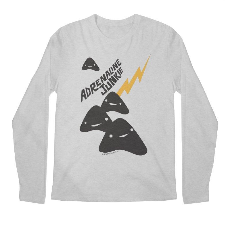 Adrenaline Junkie - Adrenal Glands Men's Longsleeve T-Shirt by I Heart Guts