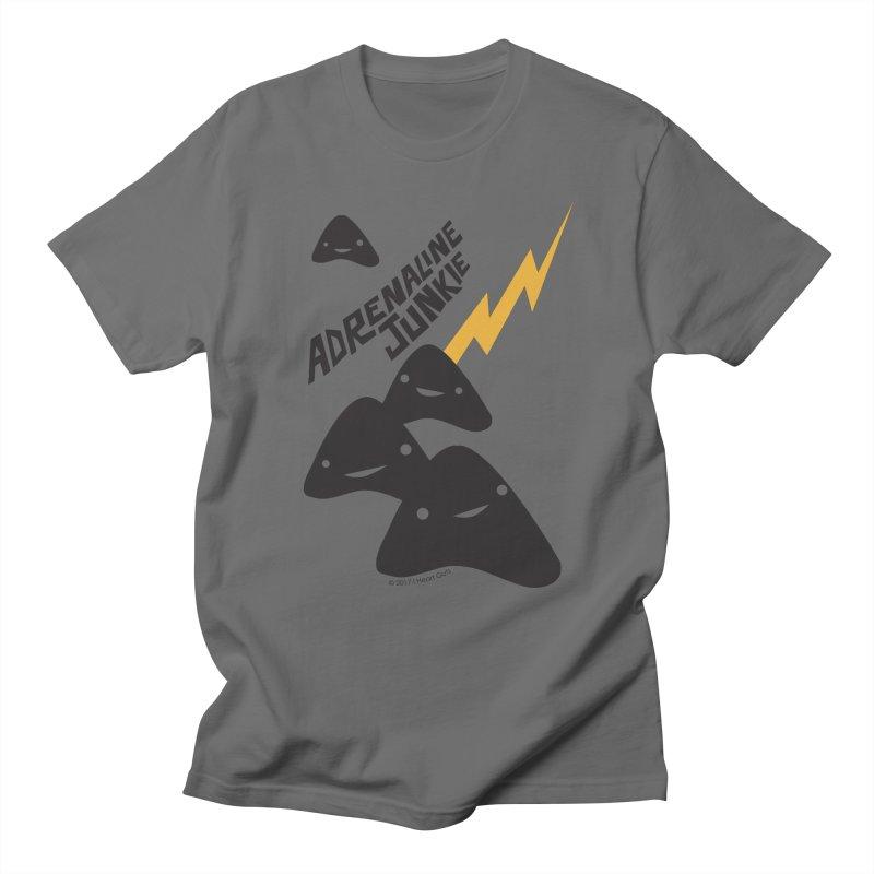 Adrenaline Junkie - Adrenal Glands Men's T-Shirt by I Heart Guts