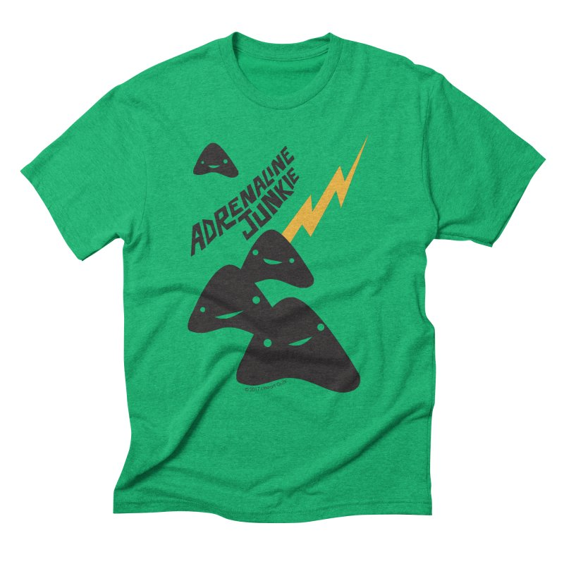 Adrenaline Junkie - Adrenal Glands Men's Triblend T-shirt by I Heart Guts
