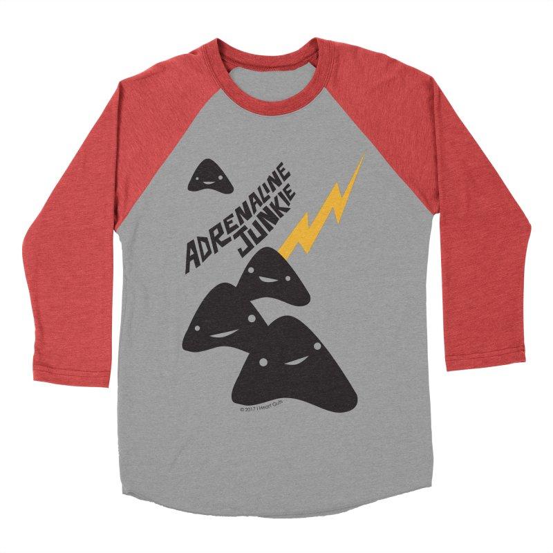 Adrenaline Junkie - Adrenal Glands Women's Baseball Triblend T-Shirt by I Heart Guts
