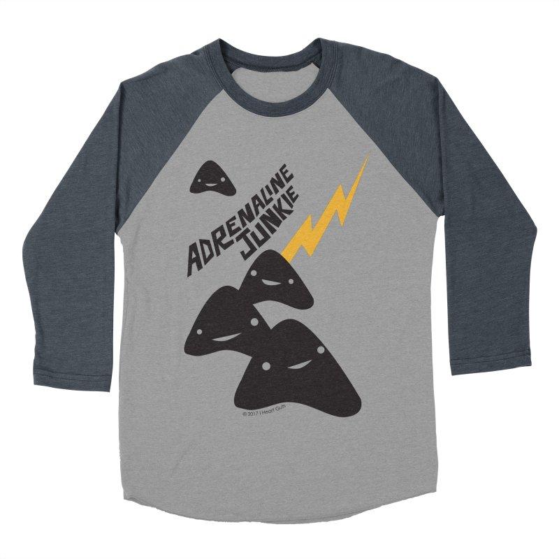 Adrenaline Junkie - Adrenal Glands Men's Baseball Triblend T-Shirt by I Heart Guts