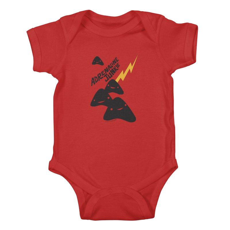 Adrenaline Junkie - Adrenal Glands Kids Baby Bodysuit by I Heart Guts