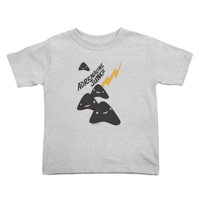 Adrenaline Junkie - Adrenal Glands Kids Toddler T-Shirt by I Heart Guts