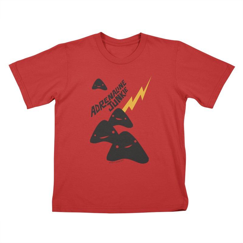 Adrenaline Junkie - Adrenal Glands Kids T-Shirt by I Heart Guts