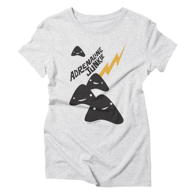 Adrenaline Junkie - Adrenal Glands Women's Triblend T-Shirt by I Heart Guts
