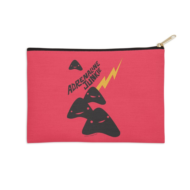 Adrenaline Junkie - Adrenal Glands Accessories Zip Pouch by I Heart Guts