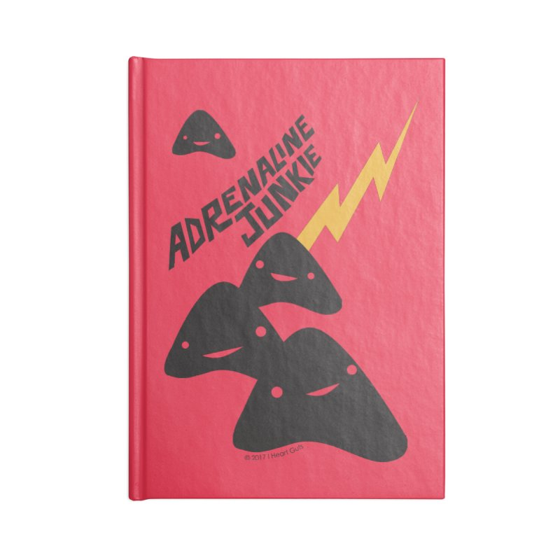 Adrenaline Junkie - Adrenal Glands Accessories Notebook by I Heart Guts