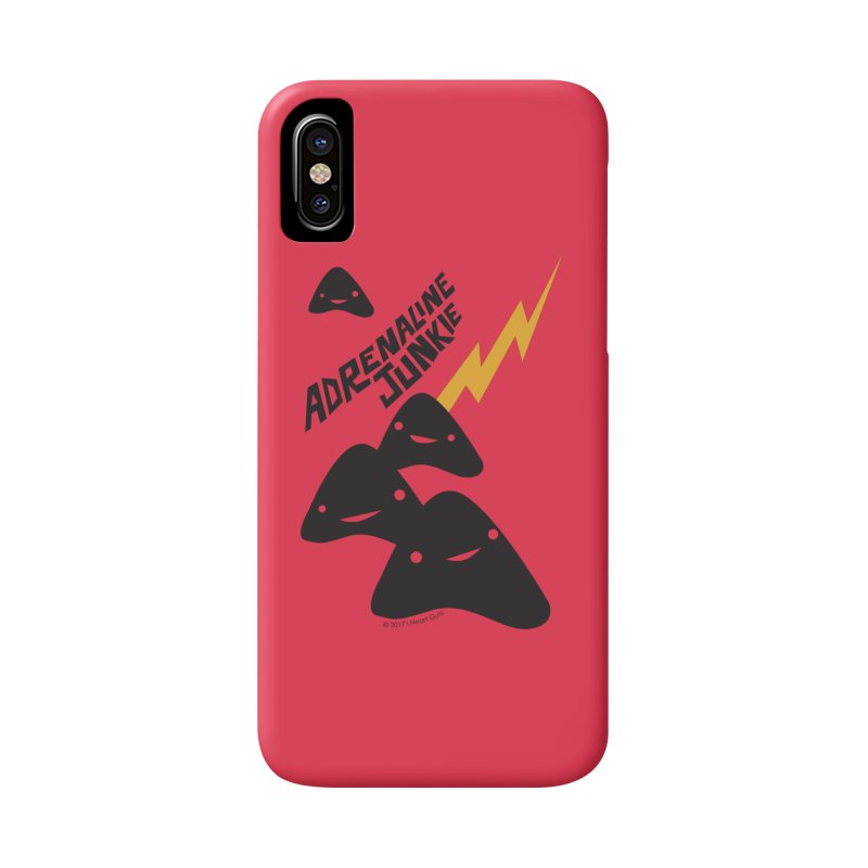 Adrenaline Junkie - Adrenal Glands Accessories Phone Case by I Heart Guts