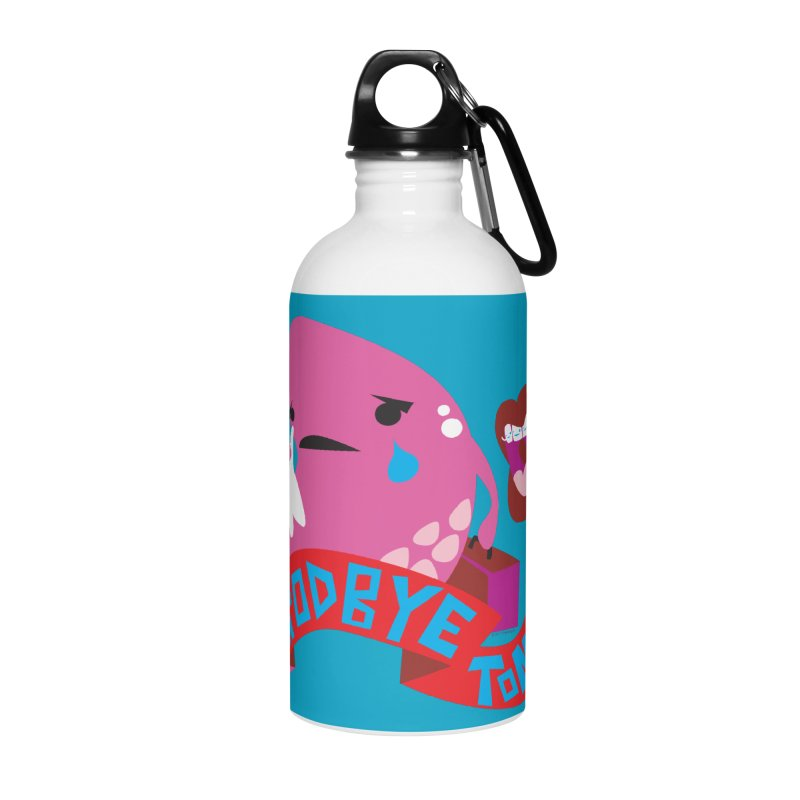 Tonsil Goodbye Accessories Water Bottle by I Heart Guts