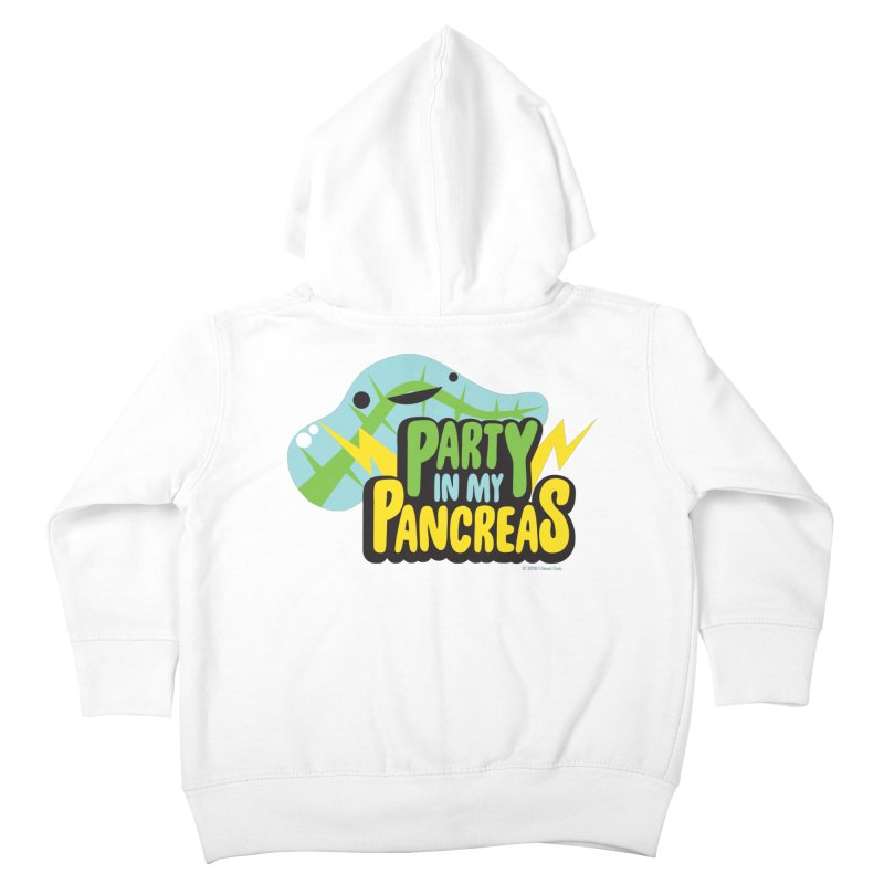 Party in My Pancreas Kids Toddler Zip-Up Hoody by I Heart Guts