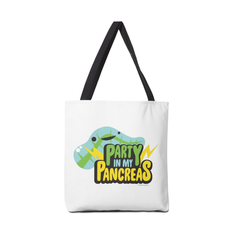 Party in My Pancreas in Tote Bag by I Heart Guts