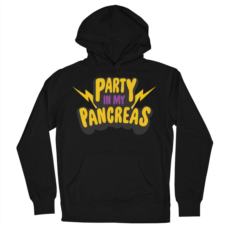 Party in My Pancreas Men's Pullover Hoody by I Heart Guts