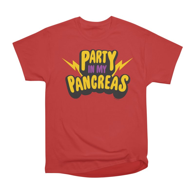 Party in My Pancreas Men's Classic T-Shirt by I Heart Guts