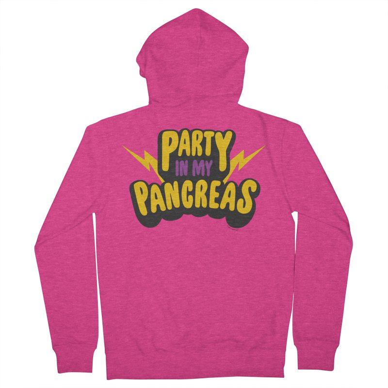 Party in My Pancreas Women's Zip-Up Hoody by I Heart Guts