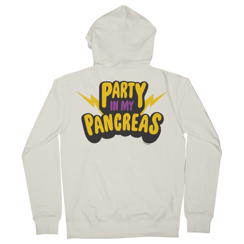 Party in My Pancreas Men's Zip-Up Hoody by I Heart Guts