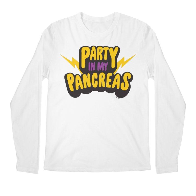 Party in My Pancreas Men's Longsleeve T-Shirt by I Heart Guts
