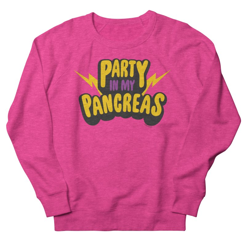 Party in My Pancreas Men's Sweatshirt by I Heart Guts