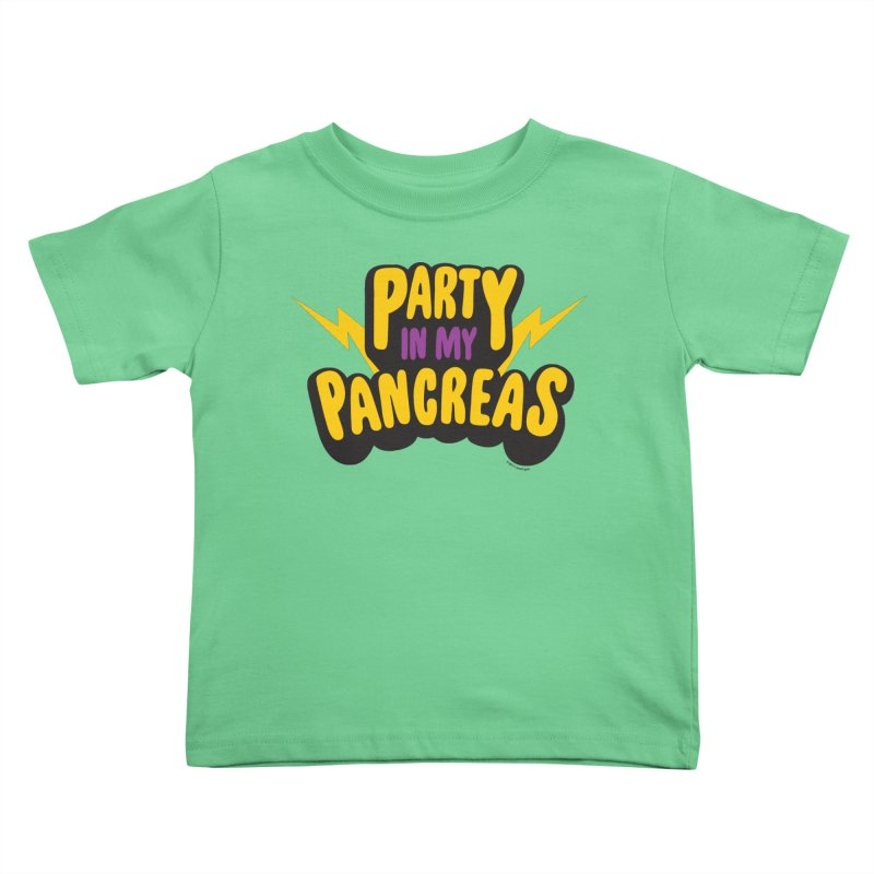 Party in My Pancreas Kids Toddler T-Shirt by I Heart Guts