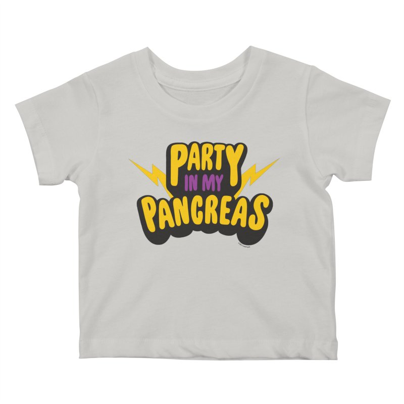 Party in My Pancreas Kids Baby T-Shirt by I Heart Guts