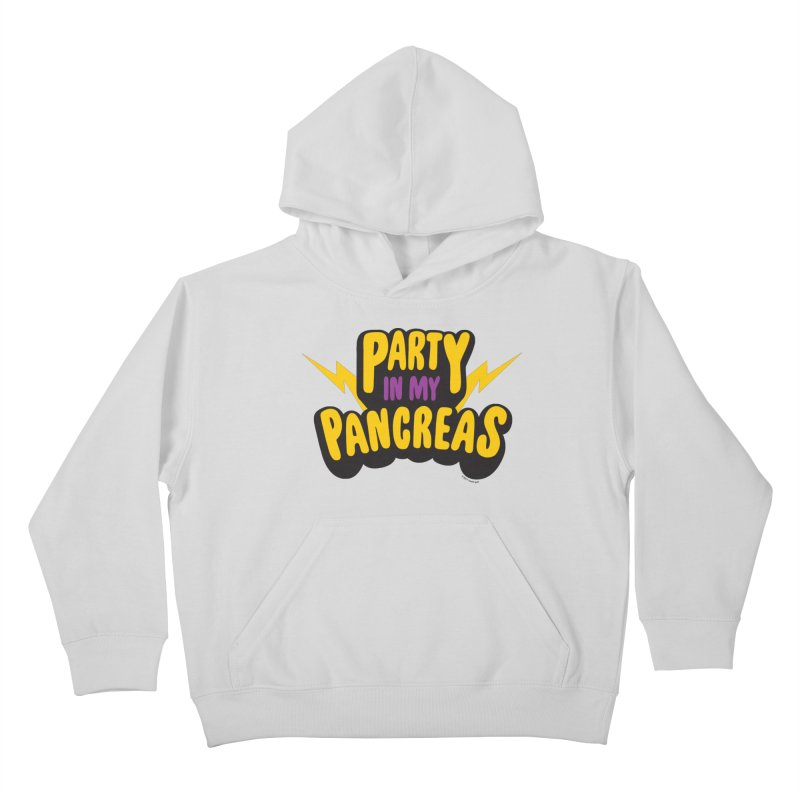 Party in My Pancreas Kids Pullover Hoody by I Heart Guts